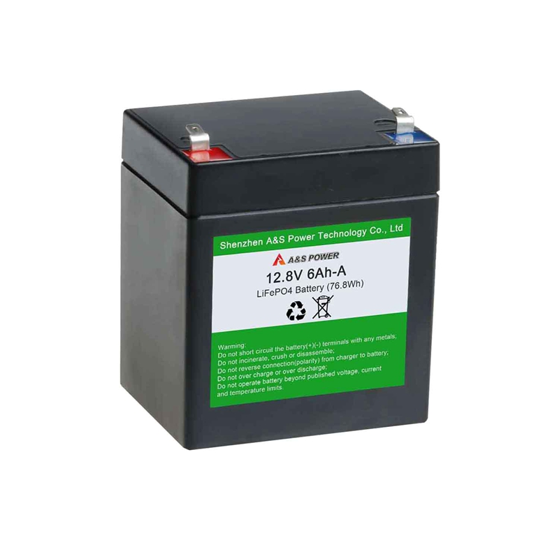 Rechargeable 32700 12.8v 6ah lifepo4 battery pack