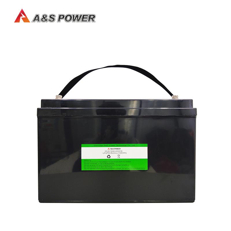 32700 25.6v 50ah lifepo4 battery pack