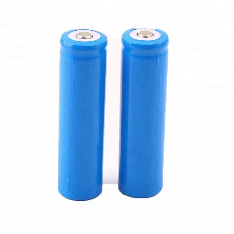 3.7 volt battery rechargeable 18650 2200mah lithium batteries