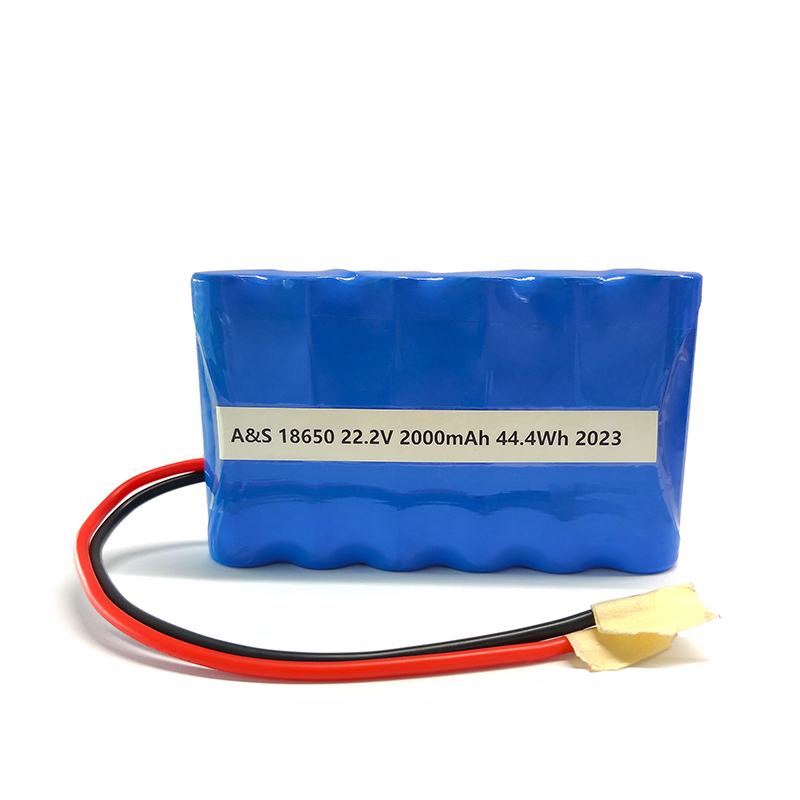 China factory Rechargeable li-ion 18650 6S 22.2v 2000mAh lithim ion battery