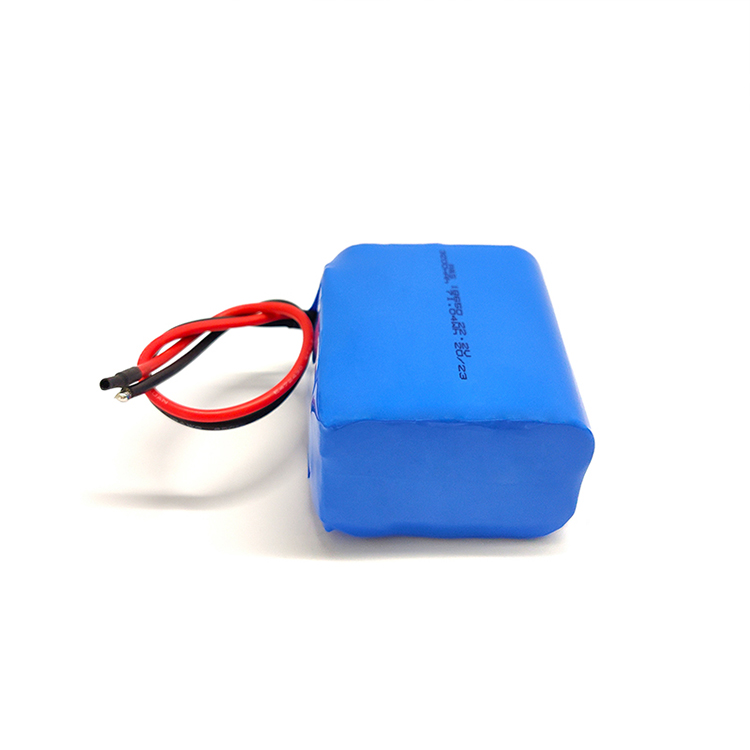 Rechargeable 18650 6S1P 22.2v 3200mah lithium batteries