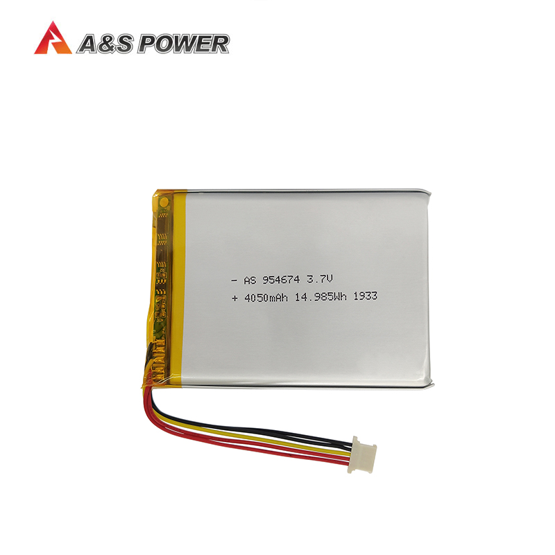 Rechargeable 954674 3.7v 4050mah lithium polymer battery